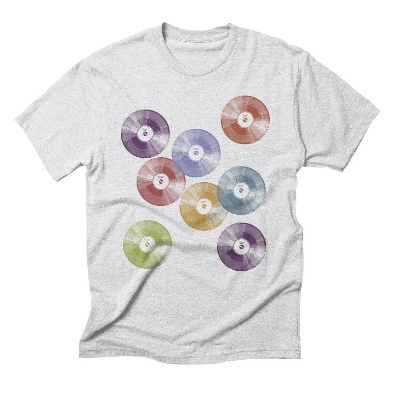 Hey Mr. DJ Men's Triblend T-Shirt by Mitchell Black's Artist Shop