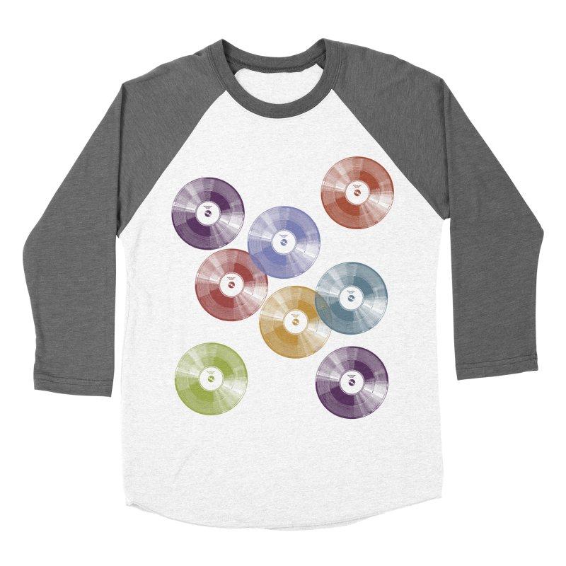 Hey Mr. DJ Men's Baseball Triblend Longsleeve T-Shirt by Mitchell Black's Artist Shop