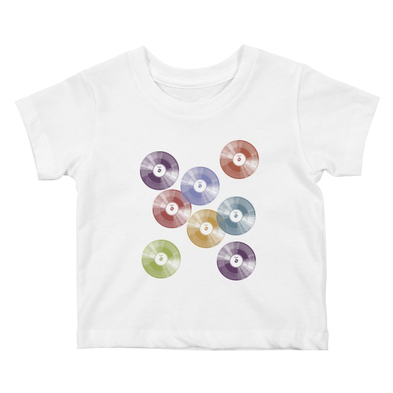 Hey Mr. DJ Kids Baby T-Shirt by Mitchell Black's Artist Shop