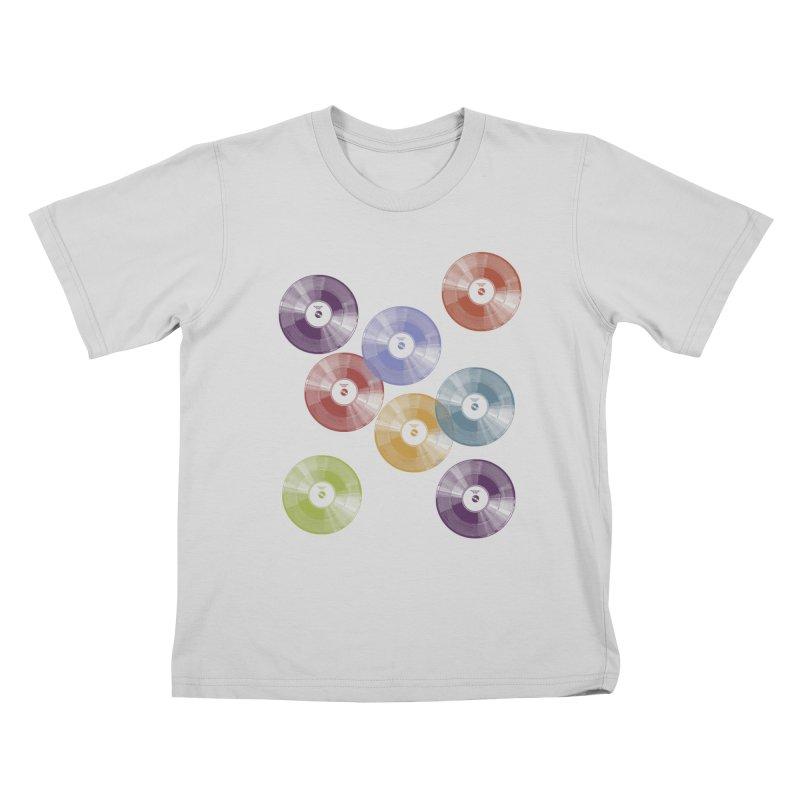 Hey Mr. DJ Kids T-Shirt by Mitchell Black's Artist Shop