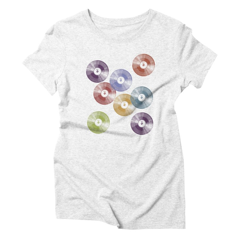 Hey Mr. DJ Women's Triblend T-shirt by Mitchell Black's Artist Shop