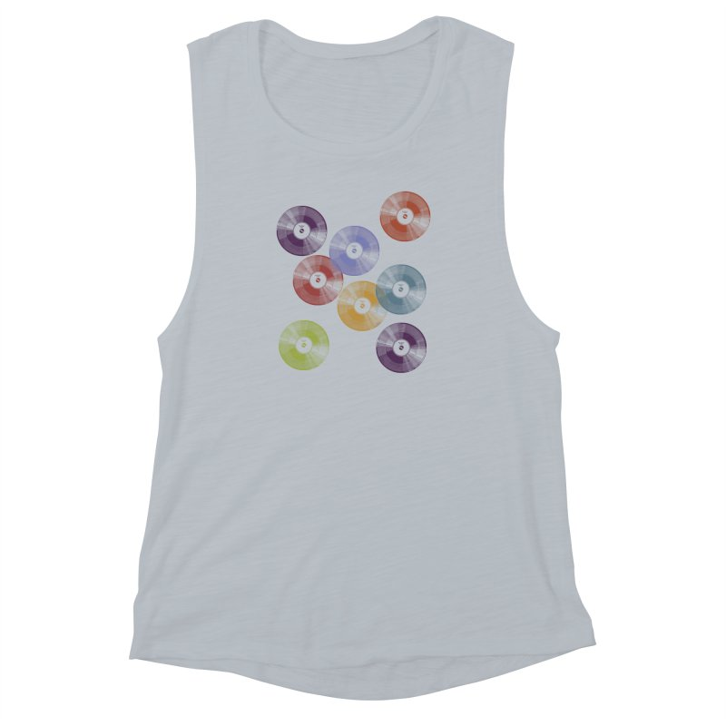 Hey Mr. DJ Women's Muscle Tank by Mitchell Black's Artist Shop