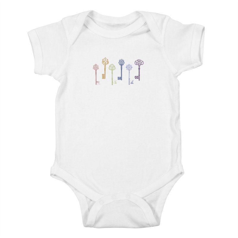 Key to Life Kids Baby Bodysuit by Mitchell Black's Artist Shop