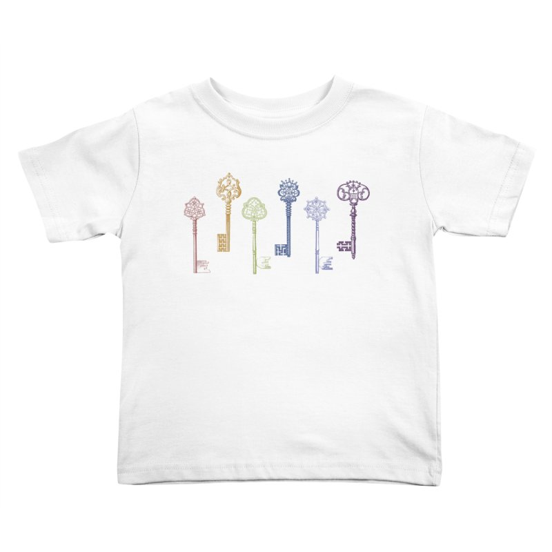 Key to Life Kids Toddler T-Shirt by Mitchell Black's Artist Shop