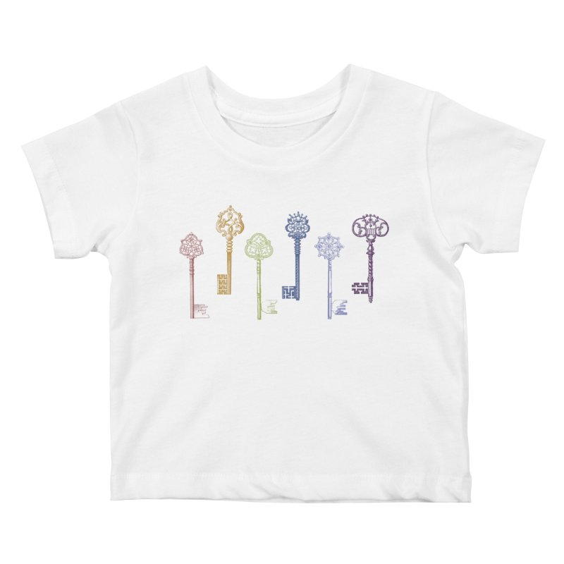 Key to Life Kids Baby T-Shirt by Mitchell Black's Artist Shop