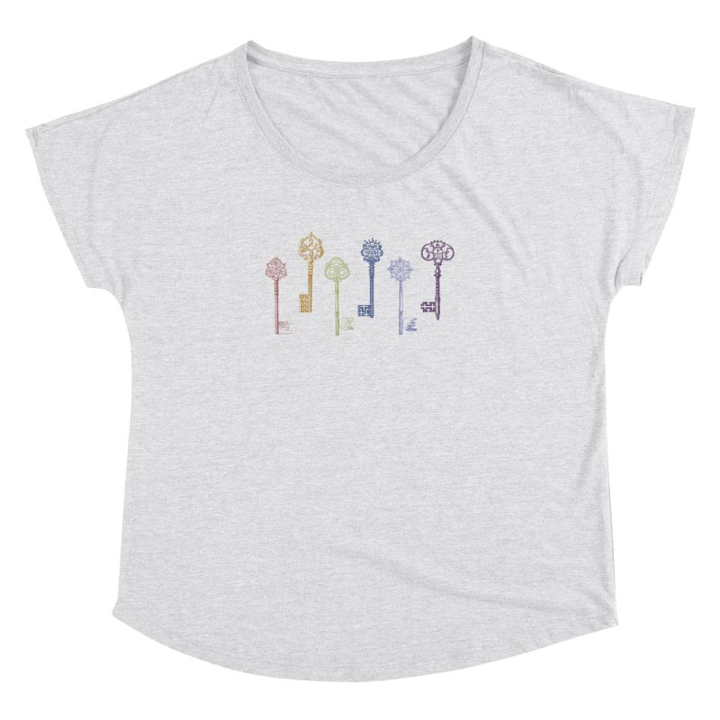 Key to Life Women's Dolman by Mitchell Black's Artist Shop