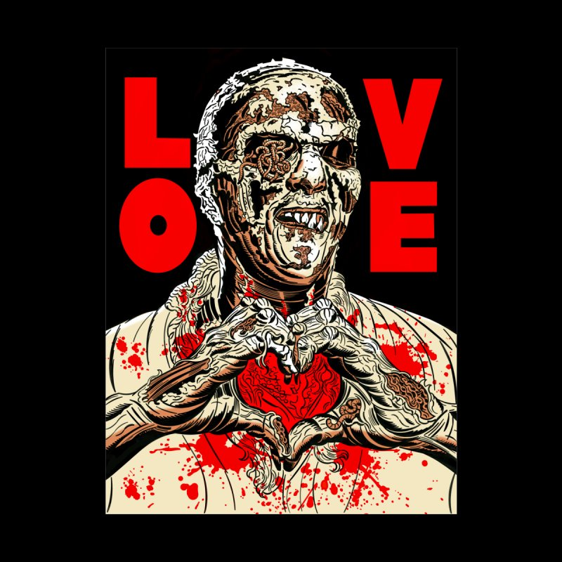 Zombie Love Home Stretched Canvas by Mitch O'Connell