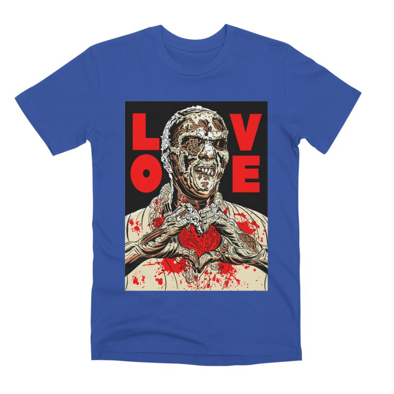Zombie Love Men's Premium T-Shirt by Mitch O'Connell