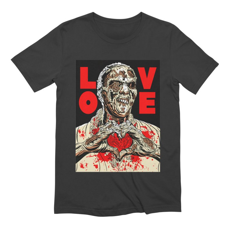 Zombie Love Men's Extra Soft T-Shirt by Mitch O'Connell