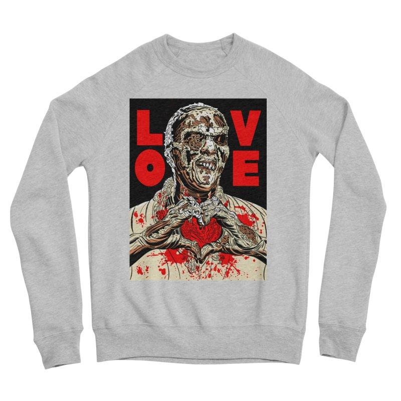 Zombie Love Women's Sponge Fleece Sweatshirt by Mitch O'Connell