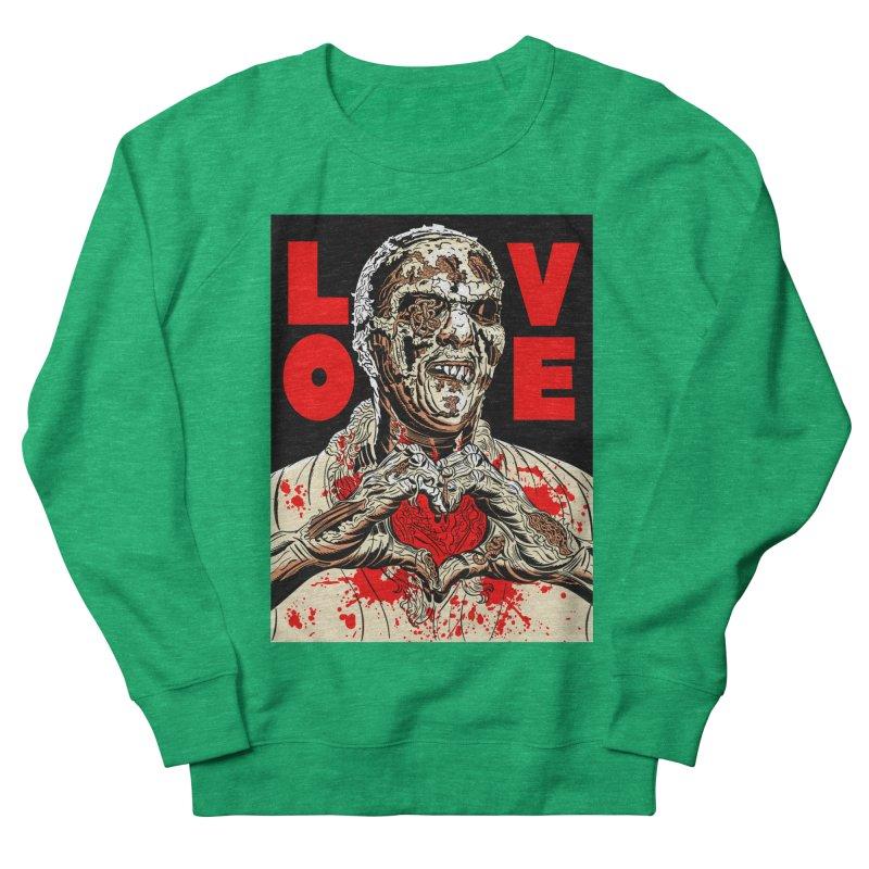 Zombie Love Women's Sweatshirt by Mitch O'Connell
