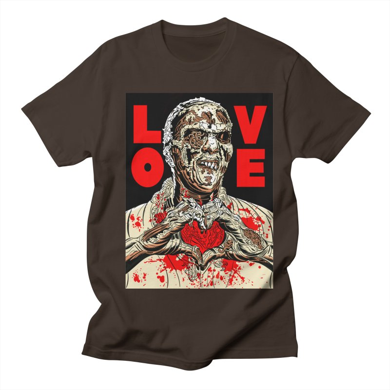 Zombie Love Men's T-Shirt by Mitch O'Connell