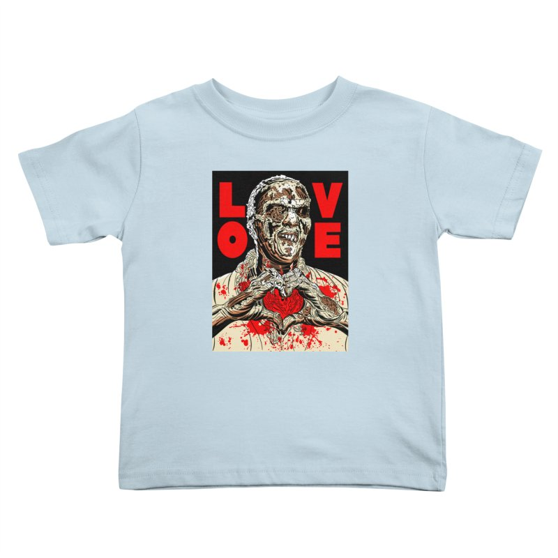 Zombie Love Kids Toddler T-Shirt by Mitch O'Connell