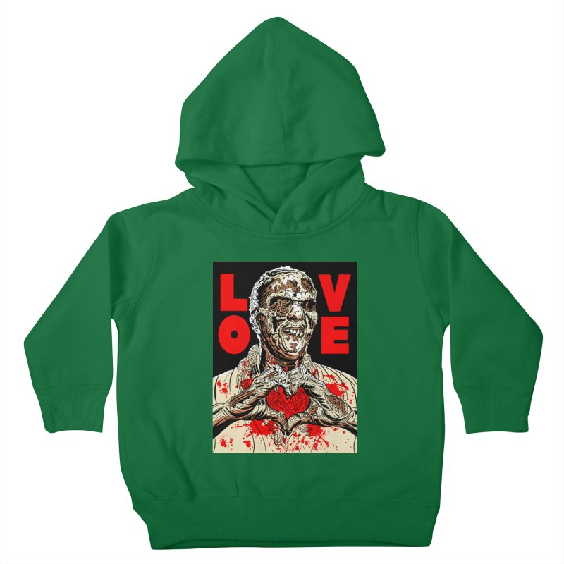 Zombie Love Kids Toddler Pullover Hoody by Mitch O'Connell