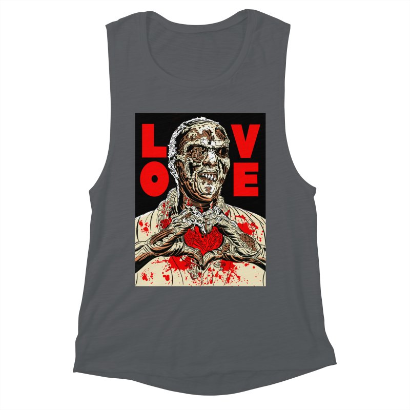 Zombie Love Women's Muscle Tank by Mitch O'Connell
