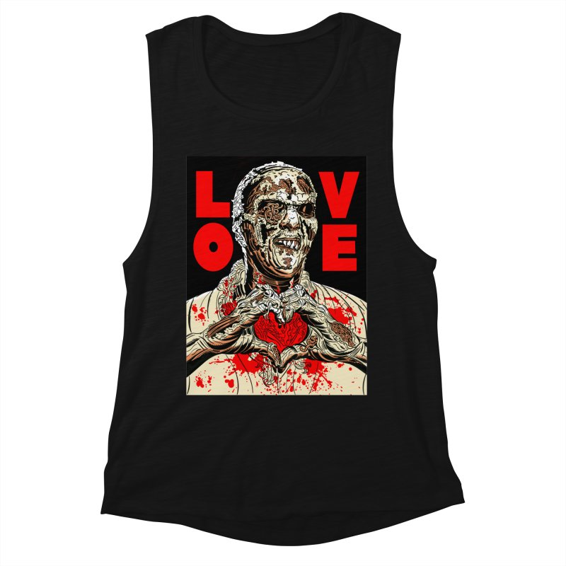 Zombie Love Women's Tank by Mitch O'Connell