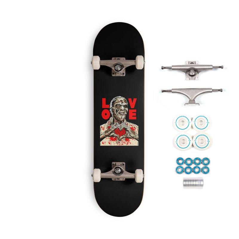 Zombie Love Accessories Complete - Basic Skateboard by Mitch O'Connell