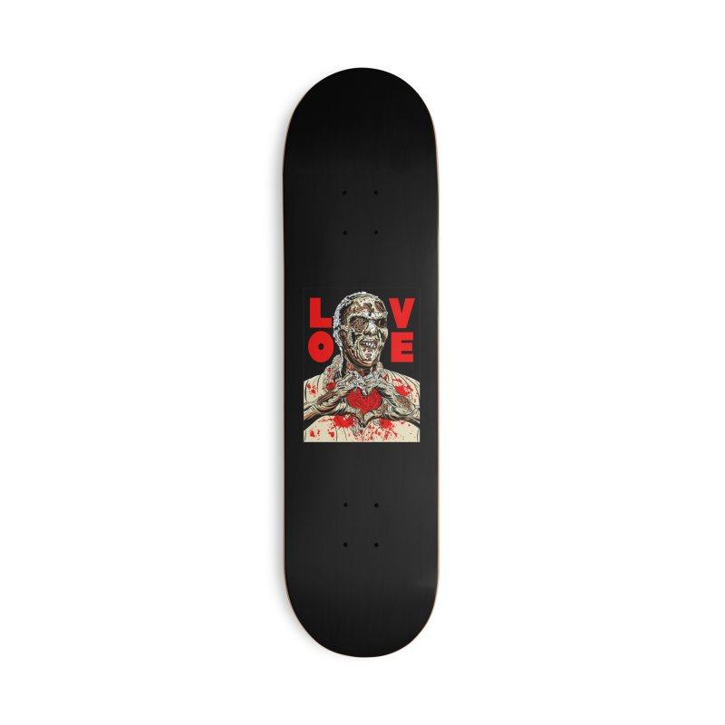 Zombie Love Accessories Deck Only Skateboard by Mitch O'Connell