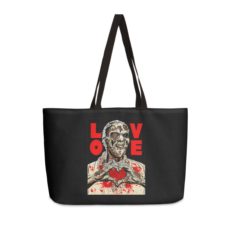 Zombie Love Accessories Weekender Bag Bag by Mitch O'Connell
