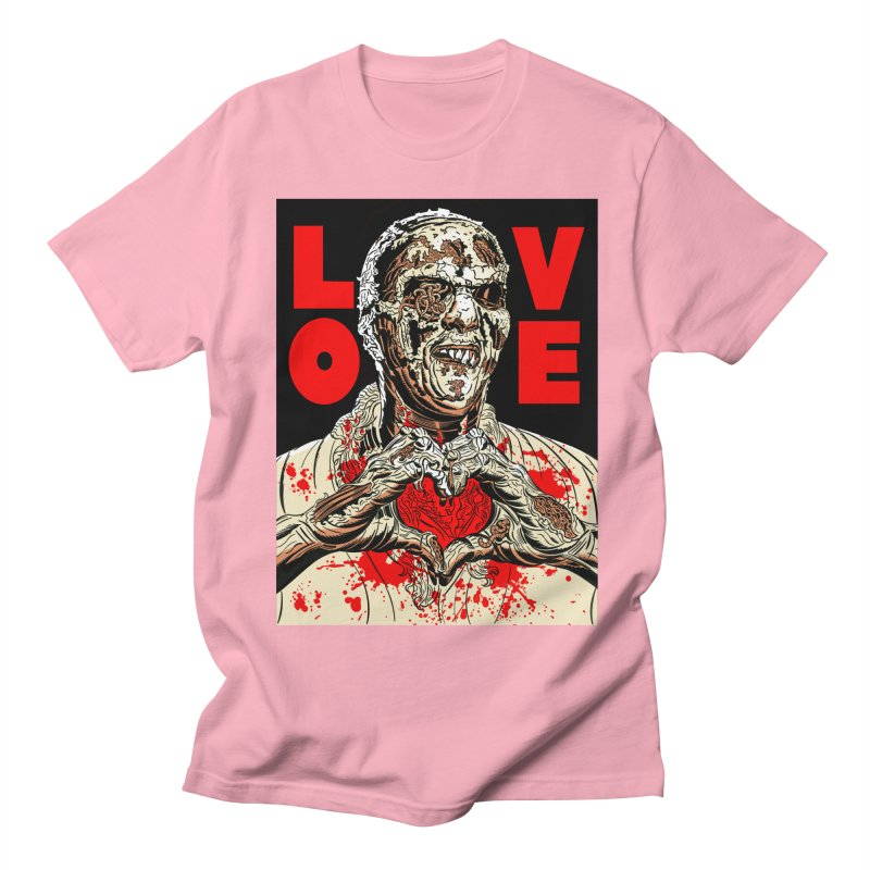 Zombie Love Women's Regular Unisex T-Shirt by Mitch O'Connell
