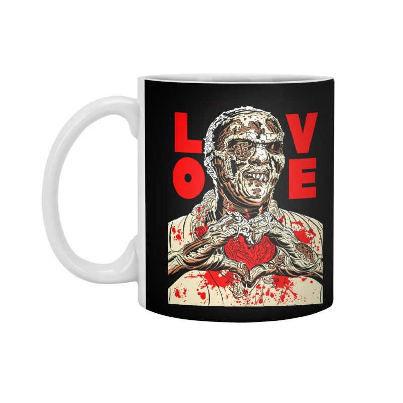 Zombie Love Accessories Standard Mug by Mitch O'Connell