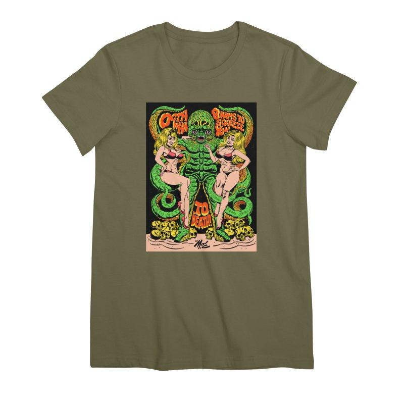 Octaman! Women's Premium T-Shirt by Mitch O'Connell
