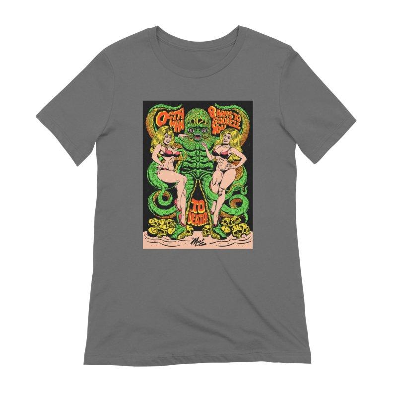 Octaman! Women's T-Shirt by Mitch O'Connell