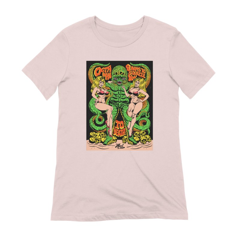 Octaman! Women's Extra Soft T-Shirt by Mitch O'Connell
