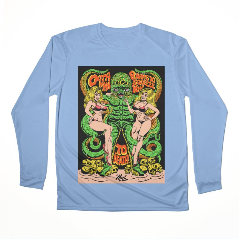 Octaman! Women's Longsleeve T-Shirt by Mitch O'Connell