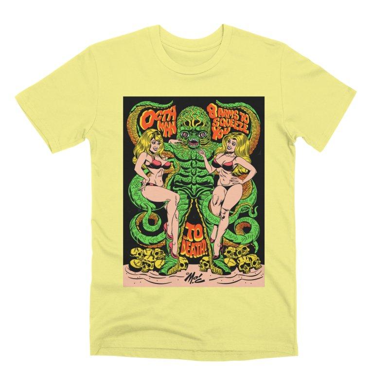 Octaman! Men's Premium T-Shirt by Mitch O'Connell