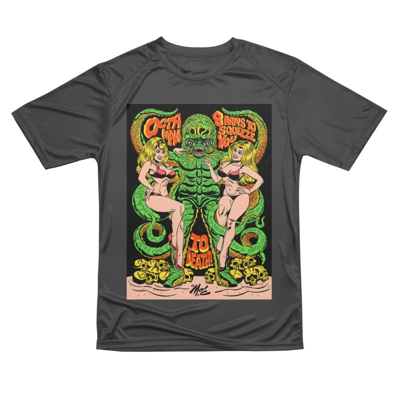 Octaman! Men's T-Shirt by Mitch O'Connell