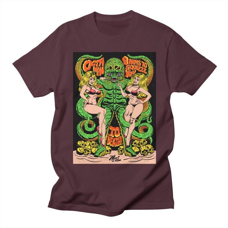 Octaman! Men's Regular T-Shirt by Mitch O'Connell