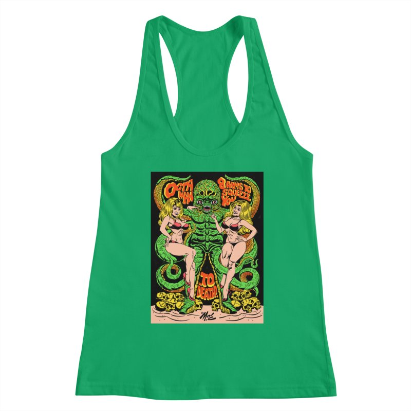 Octaman! Women's Tank by Mitch O'Connell