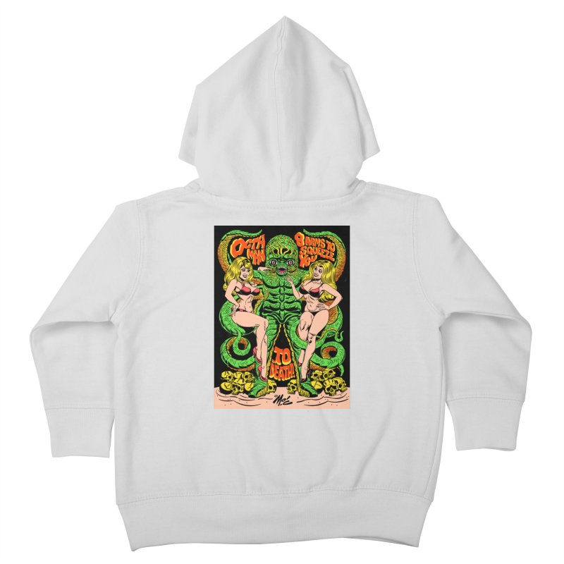 Octaman! Kids Toddler Zip-Up Hoody by Mitch O'Connell