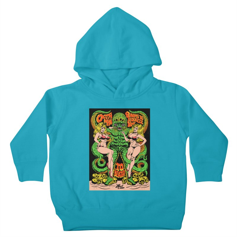 Octaman! Kids Toddler Pullover Hoody by Mitch O'Connell