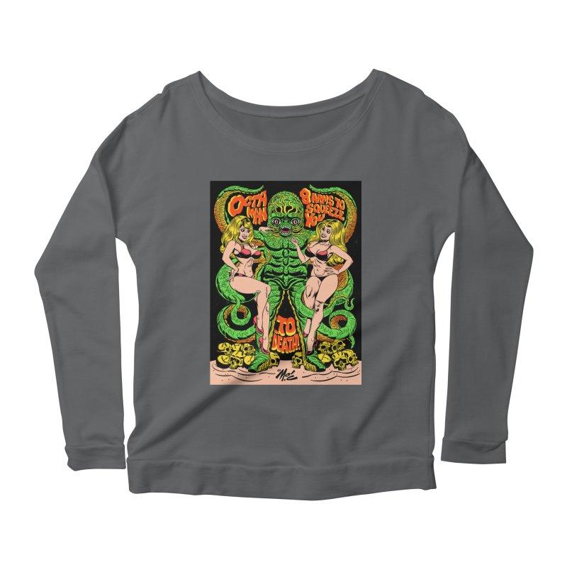 Octaman! Women's Longsleeve T-Shirt by Mitch O'Connell