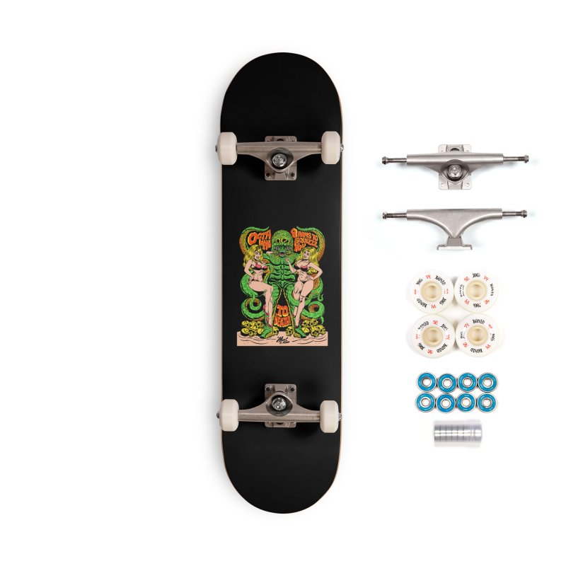 Octaman! Accessories Complete - Premium Skateboard by Mitch O'Connell