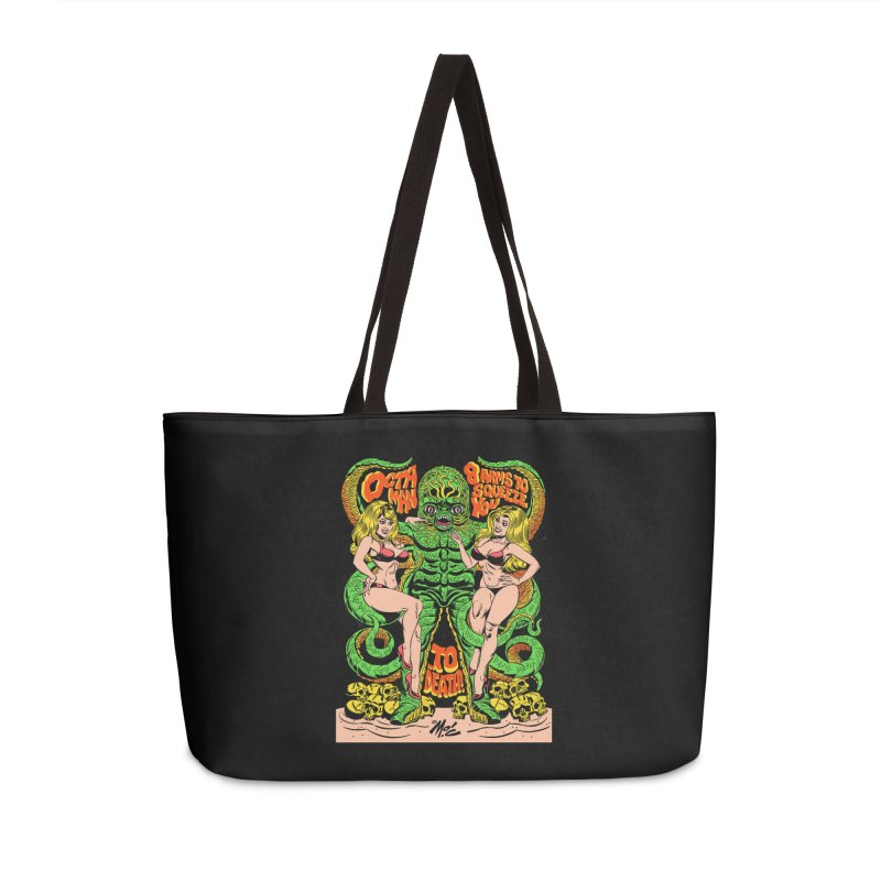 Octaman! Accessories Bag by Mitch O'Connell