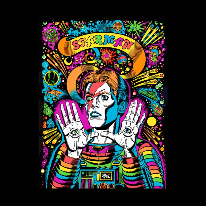Starman! Men's T-Shirt by Mitch O'Connell
