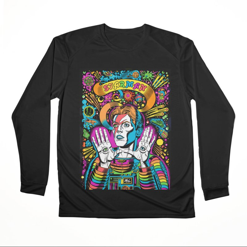 Starman! Women's Longsleeve T-Shirt by Mitch O'Connell