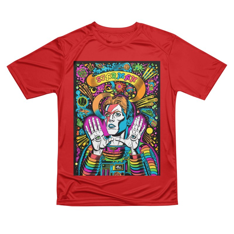 Starman! Men's Performance T-Shirt by Mitch O'Connell