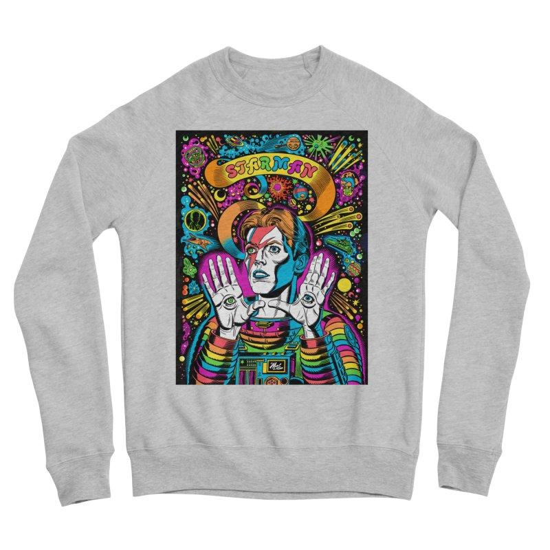 Starman! Women's Sponge Fleece Sweatshirt by Mitch O'Connell