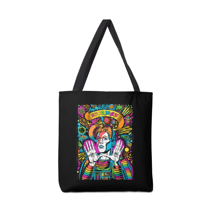 Starman! Accessories Tote Bag Bag by Mitch O'Connell
