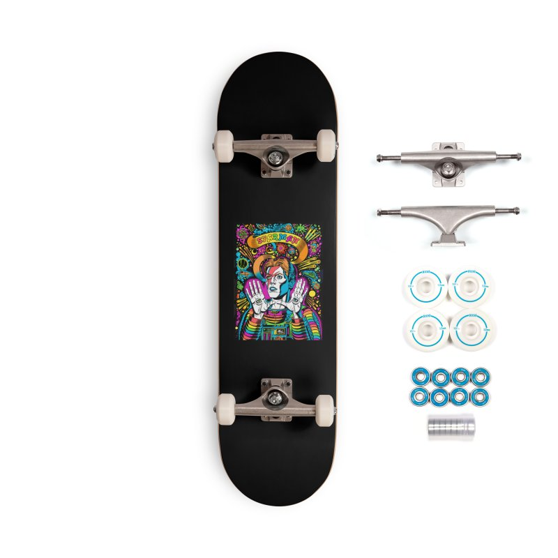 Starman! Accessories Skateboard by Mitch O'Connell