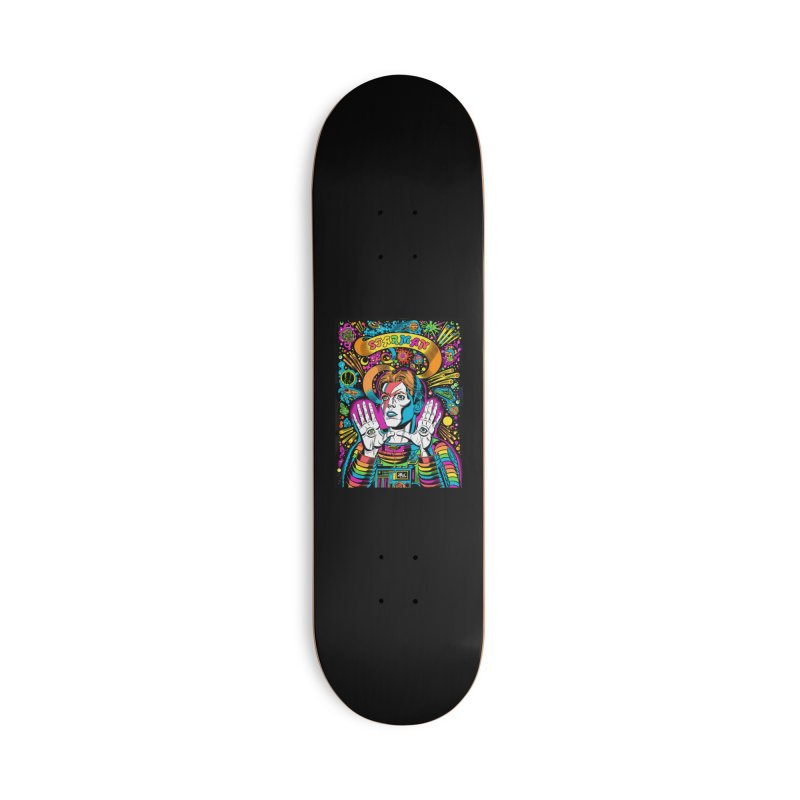 Starman! Accessories Deck Only Skateboard by Mitch O'Connell