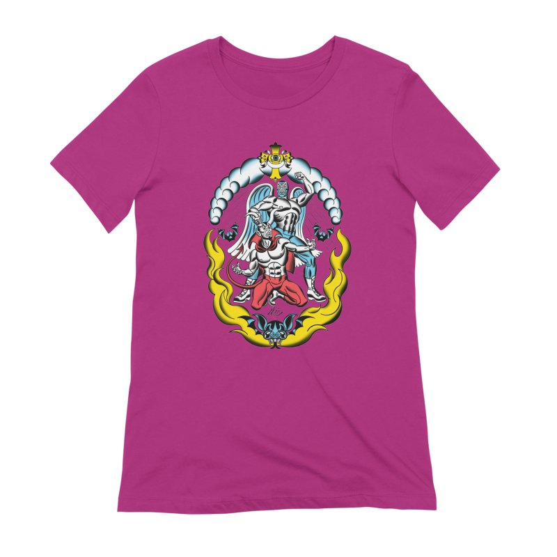 Good Always Triumphs! Women's Extra Soft T-Shirt by Mitch O'Connell