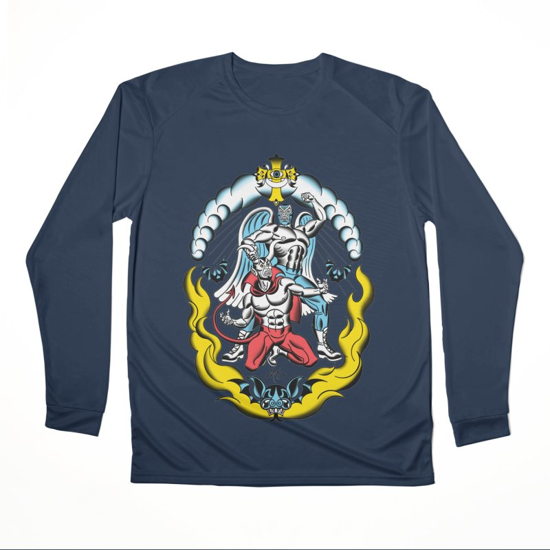 Good Always Triumphs! Men's Performance Longsleeve T-Shirt by Mitch O'Connell