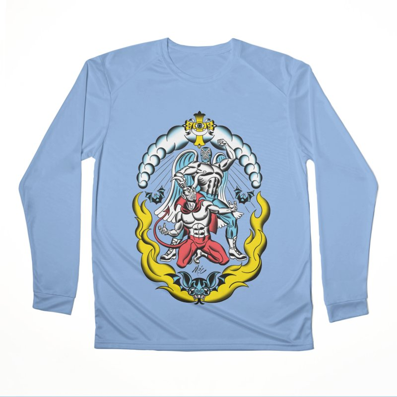 Good Always Triumphs! Women's Performance Unisex Longsleeve T-Shirt by Mitch O'Connell