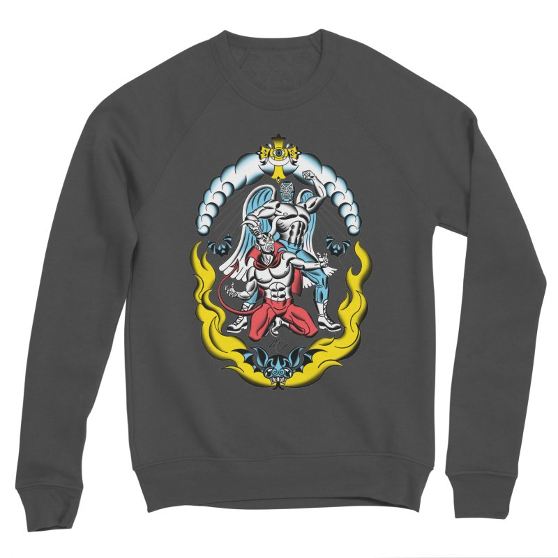 Good Always Triumphs! Men's Sponge Fleece Sweatshirt by Mitch O'Connell