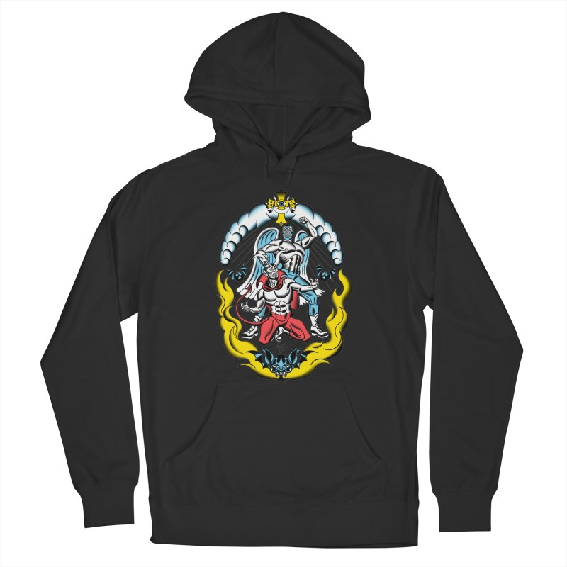 Good Always Triumphs! Men's Pullover Hoody by Mitch O'Connell